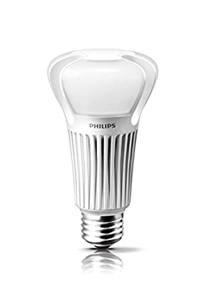 Philips 451898 A21 LED Light Bulb Soft White, Dimmable