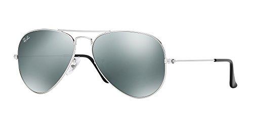 55f0c5ce04 Ray Ban RB3025 Metal Aviator Sunglasses 100% UV Protection -Bundle-2 Items