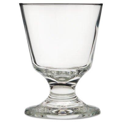 (LIB3746 Embassy Footed Drink Glasses, Rocks, 5.5 oz, 4 1/8quot; Tall)