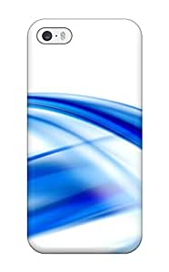 Hot Tpu Cover Case For Iphone/ 5/5s Case Cover Skin - Abstract Blue