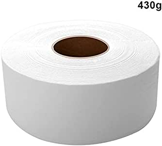 FlusRap Bath Tissue, Thick Large Toilet Paper Roll Household Soft Safe Wood Pulp Toilet Paper Tissue 430g