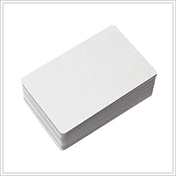 PVC Cards NTAG 215 NFC White Tags Compatible with TagMo and Amiibo for All NFC-Enabled Smartphones and Devices NTAG215 NFC Cards 20 Pieces