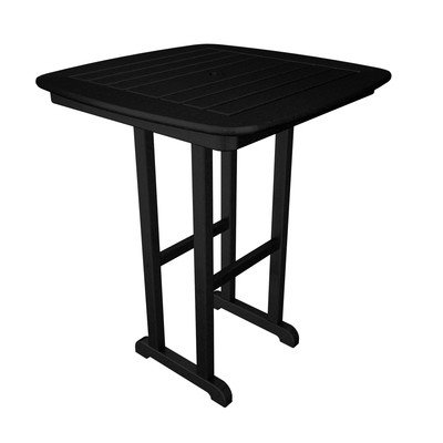 unter Table, Black (Nautical Counter Table)