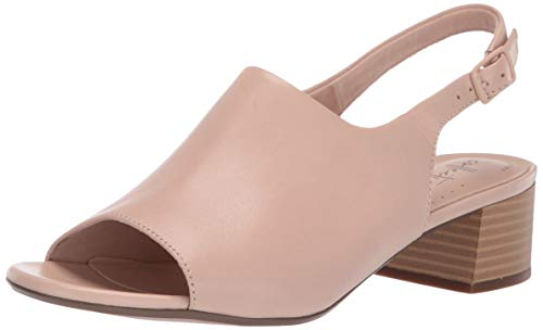 CLARKS Women's Elisa Kristie Heeled Sandal Blush Leather 060 M US