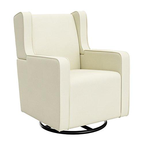 Graco Remi Upholstered Swivel Glider, Oatmeal