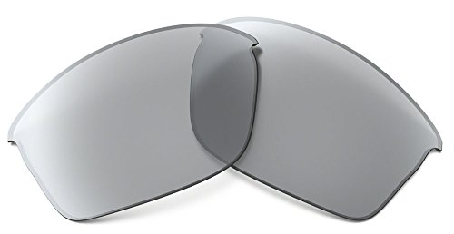 Oakley Flak Jacket XLJ Replacement Lens,Multi Frame/Slate Iridium Lens,One (Flak Jacket Xlj Replacement Lens)