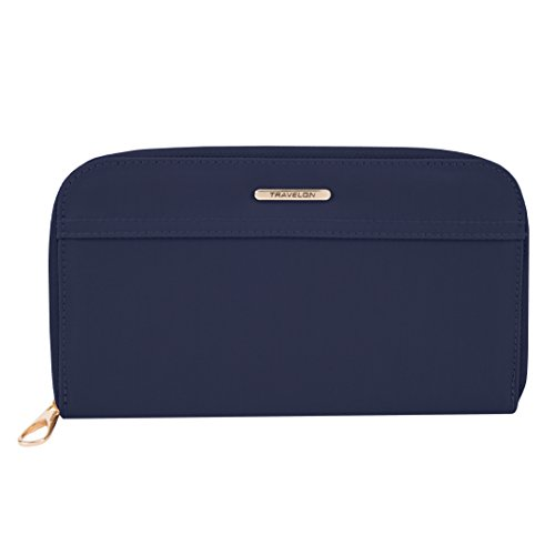 Travelon Tailored Jewelry Case, Sapphire