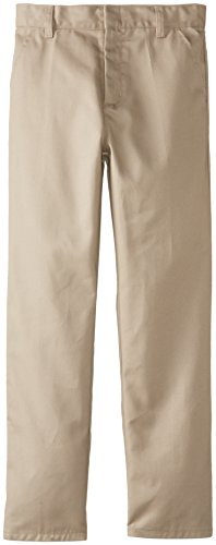 Genuine Big Boys' Flat Front Pants(Pack of 2)