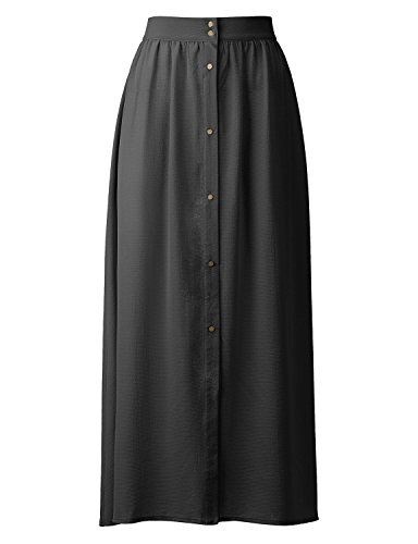 Regna X BOHO for woman's point daily lightweight black 3xl plus maternity tall chiffon long maxi dress skirt