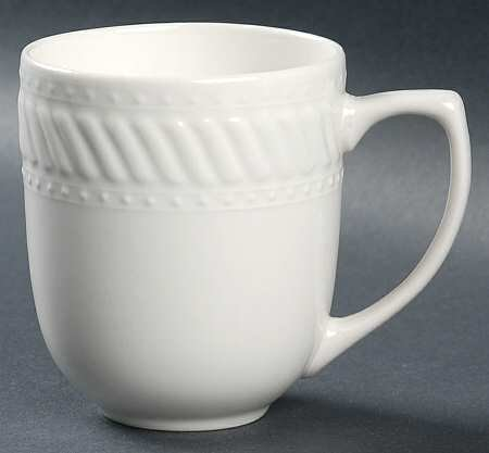 Gibson Designs Imperial Braid Ii Mug, Fine China Dinnerware ()