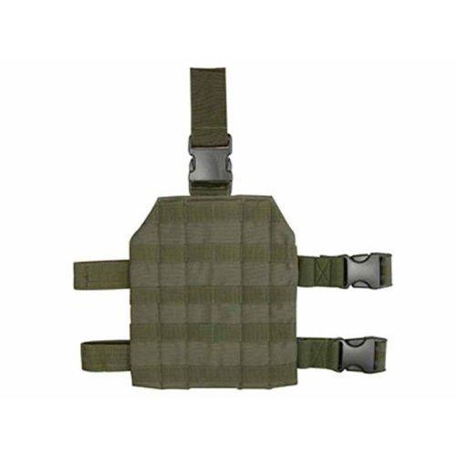 Leg Drop Molle - Condor MA1 Tactical MOLLE Drop Leg Platform - OD Green