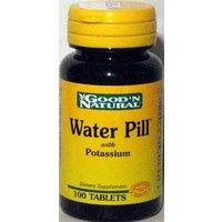 Good N Natural - Diurétique pilule naturel de l'eau avec le Potassium - 100 Comprimé