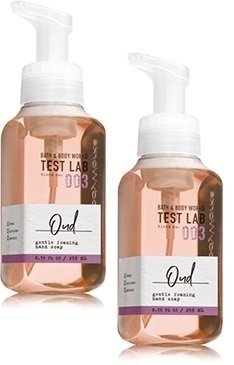Bath and Body Works 2 Pack Test Lab Blend Nro. 003 Oud Gentle Foaming Hand Soap 8.75 Oz. ()