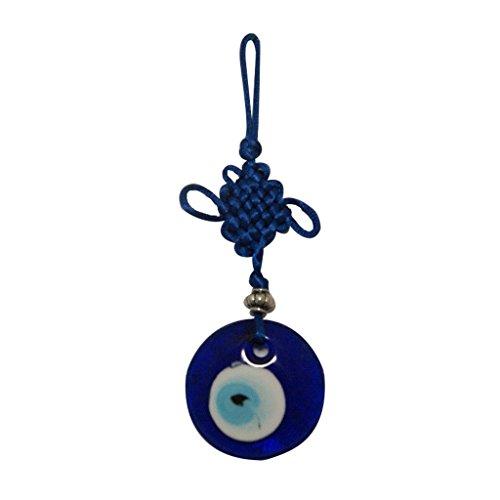 Divya Mantra Feng Shui Evil Eye Car/Wall Hanging Others Blue - Buy
