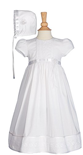 Victorian Lace Heirloom Christening Gown with Handkerchief Hem (3-6 month)