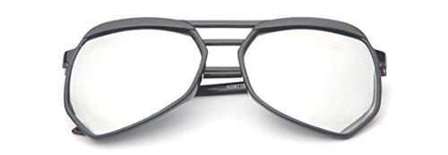 Rodeo Jacks New Oversized Unisex Modern Aviator Wayfarer Style Sunglasses (Arctic, - Percription Sunglasses