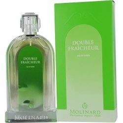 Molinard Double Fraicheur Eau De Toilette Spray for Women, 3.3 Ounce (Fraicheur Eau De Spray Toilette)
