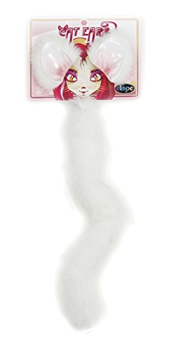 Elope Cat Ears/Tail (White)