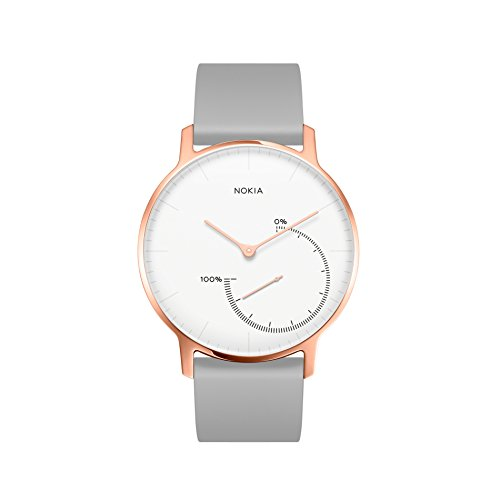 Nokia Steel Limited Edition - Activity & Sleep Watch, Rose Gold by Nokia health
