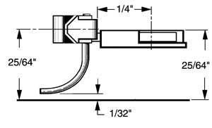 HO Multi-Purpose Coupler, 1/4 Underset (2pr) by Kadee Qualtiy Products, CO.