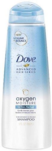 Dove Advanced Hair Series Oxygen Moisture Shampoo, 12 oz (Pack of (3 Series Moisture)