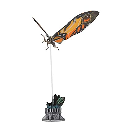 "NECA - Godzilla - 12"" Wing-to-Wing Action Figure – Mothra (2020): Toys & Games"