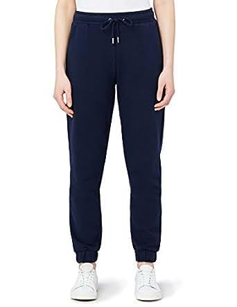 MERAKI Pantalones Chándal Mujer, Azul (Blue), 36 (Talla del fabricante: X-Small)