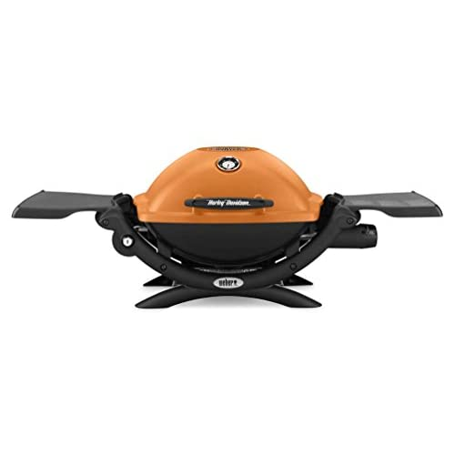 Cheap Harley-Davidson Weber Q1200 Bar & Shield Portable Outdoor Gas Grill WHDQ1200 for cheap