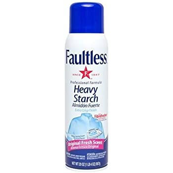 Faultless Heavy Spray Starch 20 oz Cans (Pack of 2)