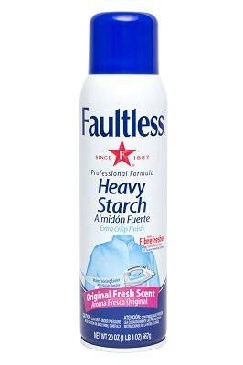 Faultless Heavy Spray Starch 20 oz Cans (Pack of 2) by Faultless