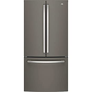 "GE GNE25JMKES 33"" Energy Star Qualified French-Door Refrigerator with 24.8 Cu. Ft. Capacity, in Slate"