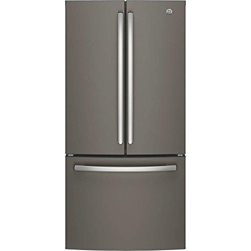 GE GNE25JMKES 24.8 Cu. Ft. Slate French Door Refrigerator – Energy Star