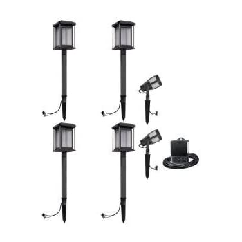this item malibu prominence 6 pack led light kit these landscape lights are best for exterior and outdoor lighting this low voltage light set is consist - Landscape Lighting Kits