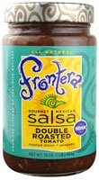 Frontera Foods Inc. Salsa, Med Dbl Rst Tomato, 16-Ounce (Pack of 6) (Frontera Double Roasted)