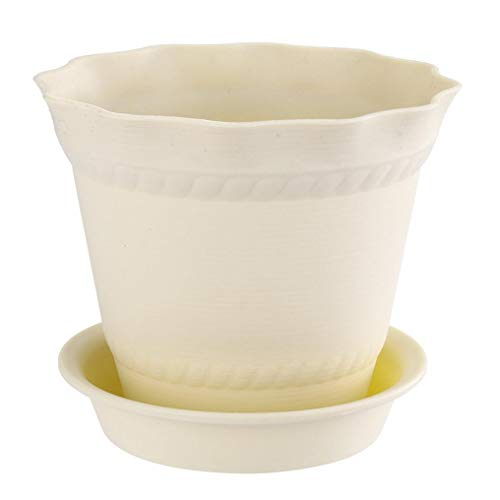 Iuhan Resin Plants Nursery Pot, Plastic Planters, Indoor Flower Pot, Plant Pot, Mini Resin Flower Seedlings Nursery Pot…