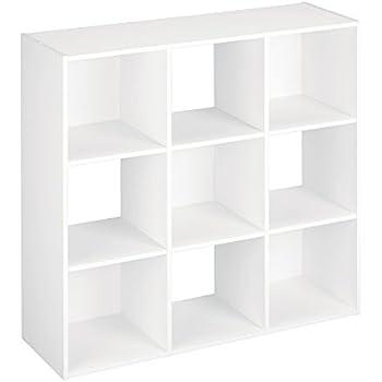 ClosetMaid 421 Cubeicals Organizer, 9 Cube, White