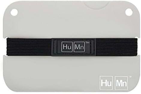 HuMn Mens Wallet Mini Sky White-One Size