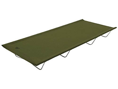 ALPS Mountaineering Lightweight Camp Cot Steel and Polyester Green by CCB