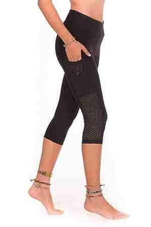 Margarita Corsaire Fitness   Running Femme Poches Noir - M  Amazon ... 15a56ef0d64