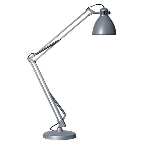 L1 Task Light with Clamp and Arm White by Luxo
