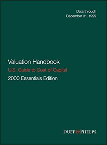 Valuation Handbook - U.S. Guide to Cost of Capital (Wiley Finance)
