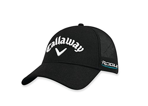 Callaway Golf 2018 Tour Authentic Adjustable Trucker Hat, Black