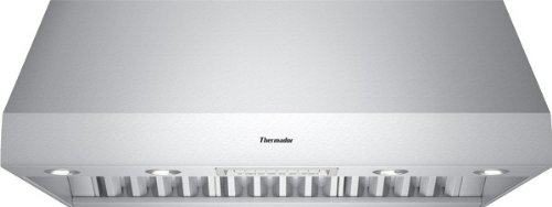 Professional Series Wall Hood With Powerfully Quiet Ventilation Systems Three Fan Speeds Halogen Lighting Stainless Steel Baffle Filters & Brushed Stainless Steel