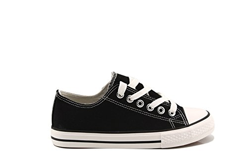 Modelisa - Zapatillas Baja Mujer NEGRO
