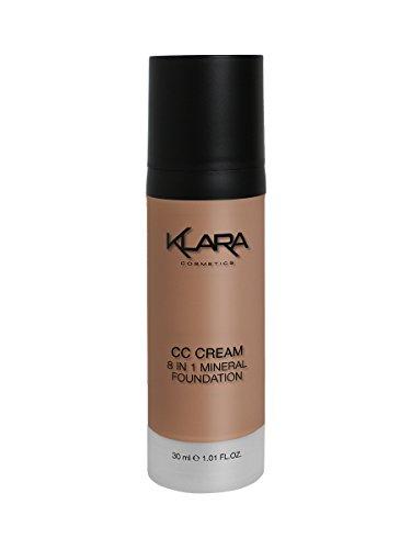 - CC Cream - 8 in 1 Mineral Foundation - 05 VERY DARK