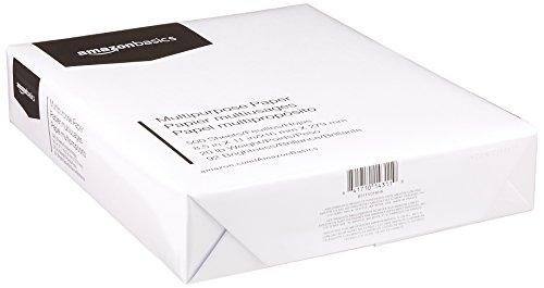 AmazonBasics 92 Bright Multipurpose Copy Paper - 8.5 x 11 Inches, 5 Ream Case (2,500 Sheets) Photo #2