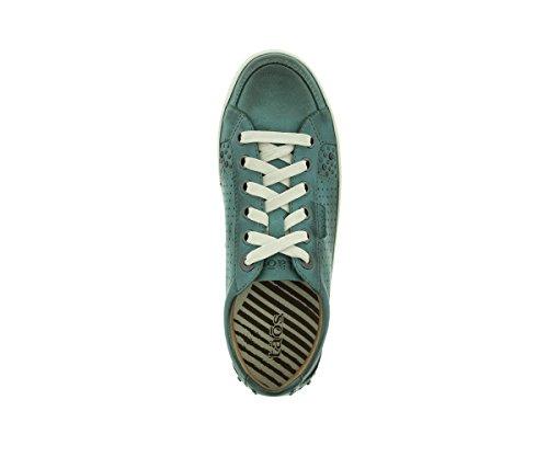 Taos Womens Freedom Fashion Sneaker Groenblauw