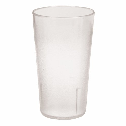 Plastic Tumblers, Shatter Proof Cups, For Restaurant, Lunchroom, Cafeteria, Bar - Pack of 12 (20 oz, Clear)