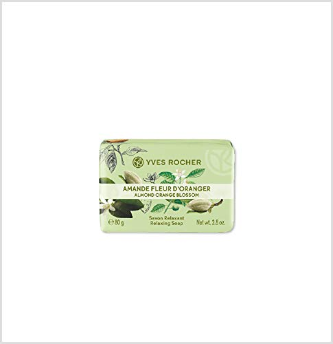 YVES ROCHER Relaxing Soap Bar 2.8 OZ (Almond Orange Blossom)