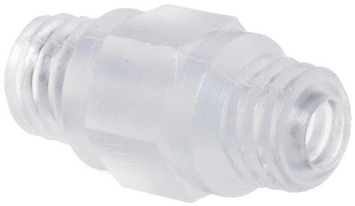 Polypropylene Threaded Nipple 10-32 UNF (Pack of 10)